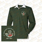 The Light Infantry Embroidered Crested L/S Rugby Shirt