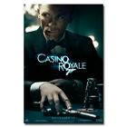 "James Bond 007 Casino Royale Spy Shooting Movie Art Silk Poster 13x20"" 24x36"" $12.59 CAD on eBay"