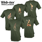 Web-Tex Forces Support Personnel T-Shirts Olive Green S-XXL J.P Kidd Design