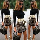 Women Sexy Sleeveless Bodycon Short/Mini Dress Evening Party Fashion Cocktail