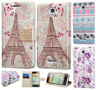 For Alcatel OneTouch Elevate Leather Wallet Case Pouch Flip Cover + Screen Guard