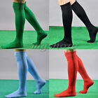 Football Plain Long Socks Sport Knee High Large Hockey Soccer Rugby Men Womens