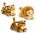 Keel 25cm Jungle Cats Assortment Lion, Tiger and Leopard Great xmas gift