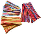 PACK OF 3 FAIR TRADE LONG COTTON HAIR BANDS BANDANA'S HEADBANDS - DOUBLE WRAP