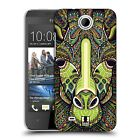 HEAD CASE DESIGNS AZTEC ANIMAL FACES SERIES 6 HARD BACK CASE FOR HTC PHONES 3