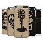 HEAD CASE DESIGNS POWER OF MUSIC HARD BACK CASE FOR APPLE iPOD TOUCH MP3