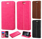 For HTC One A9 Premium Wallet Case Pouch Flap STAND Phone Cover Accessory