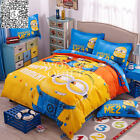 Minions Single Double Queen Size Bed Set Pillowcase Quilt Covers