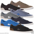 Lacoste Men's LEROND SEP Canvas Leather Casual Sports Low Top Trainers Shoes