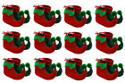 24 X ELF BOOTS PIXIE SHOES CHRISTMAS FANCY DRESS COSTUME GROUP GNOME XMAS