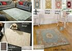 Luxury Rugs 100% Wool Thick Hard Wearing Small Large Runner Heavy Floral Modern
