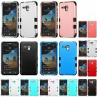 TUFF HYBRID RUBBER HARD SKIN CASE COVER FOR ALCATEL Onetouch Fierce XL / 5054