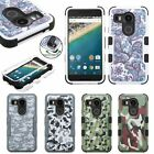 Hybrid Shockproof Rugged Rubber Tuff Armor Cover Case For LG Google Nexus 5X