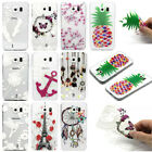 Beauty Painted Clear Soft Silicone TPU Rubber Gel Case Back Cover For Smartphone