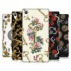 HEAD CASE DESIGNS FLORAL BRASS HARD BACK CASE FOR SONY PHONES 2