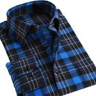 Men's Plaid Flannel Button Down Shirt