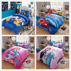 Cartoon Single Size Bed Linen Quilt/Duvet/Doona Cover Set New 100%Cotton Bedding