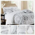 Floral New Cotton Quilt/Duvet/Doona Cover Set King Queen Double Size Bed Linen