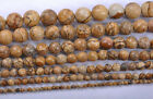 """16""""Natural Yellow Ball Round Findings Beads 4/6/8/10/12/14/16MM you chose size"""