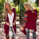 Fashion Women's Long Sleeve Knitwear long Cardigan Outwear Jacket Coat Sweater