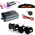 6 Colour LCD Display Car 4 Sensors Kit Reversing Parking Radar Buzzer System