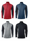 Reebok - Men's Sport Tops, 1/4 OR Full Zip, S-3XL, 4XL, 5XL, Soccer, Golf JACKET