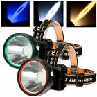 Rechargeable 5W Super Light Headlight Headlamp Built-in 1200AM Battery + Charger