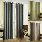 Thermal Blockout Ring Top Modern Curtains With Herringbone Printed Design