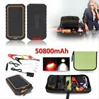Power Bank 12V 50800mAh Vehicle Car Jump Starter Pack Booster Charger Battery