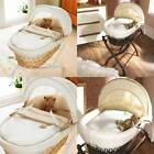 Izziwotnot Cream Gift Wicker Moses Basket