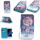 Magnetic Pattern Leather Wallet Stand Case Cover For Samsung Galaxy S4 S5 S6 S7