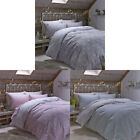Catherine Lansfield Home Brushed Polka 100% Cotton Flannelette Sheet Set
