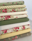 10 - 100 Patchwork 100% Cotton Fabric 10cm Squares, inc Cath Kidston - new