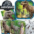 Jurassic World Park Childrens Birthday Party Range Tableware Dinosaur Boys T-Rex