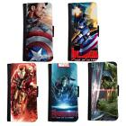 New Super Hero Wallet Case Cover For Faux Leather Flip Apple iPhone 6 6s / Plus