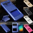 Dual View Window Flip Leather Hard Case Cover Stand For Xiaomi Redmi Note2/Prime