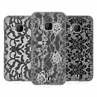 HEAD CASE DESIGNS BLACK LACE HARD BACK CASE FOR HTC PHONES 1