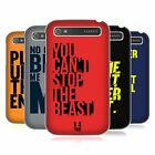 HEAD CASE DESIGNS POWER STATEMENT HARD BACK CASE FOR BLACKBERRY PHONES