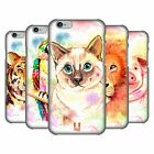 HEAD CASE DESIGNS WATERCOLOURED ANIMALS HARD BACK CASE FOR APPLE iPHONE PHONES