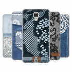 HEAD CASE DESIGNS JEANS AND LACES SOFT GEL CASE FOR LG PHONES 2