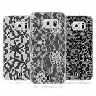 HEAD CASE DESIGNS BLACK LACE SOFT GEL CASE FOR SAMSUNG PHONES 1