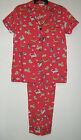 100% Woven Cotton Summer Dog Pajamas Insomniax Womens   M  Sleepwear Sets Pjs
