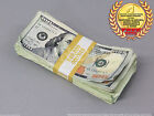 PROP MONEY USED LOOK New $10,000 Blank Filler Pack for Movie, TV, Videos Novelty