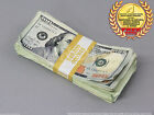 THE BEST PROP MONEY USED LOOK New $10,000 Blank Filler Pack for Movie, TV, Video