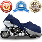 Motorcycle Bike Cover Travel Dust Cover For Honda Shadow Sabre VT 700 750 1100