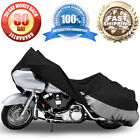 Motorcycle Cover Travel Dust For Harley Softail Night Train Deluxe FLSTNI