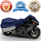 Motorcycle Bike Cover Travel Dust Storage Cover For Suzuki SV1000 SV 1000