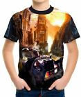 Back To The Future Boy's Kid Youth T-Shirts Tee Age 3-13