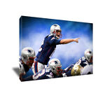 New England Patriots TOM BRADY Charge Poster Photo Painting on CANVAS Wall Art on eBay