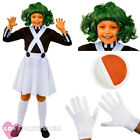 GIRLS FACTORY WORKER COSTUME SCHOOL BOOK WEEK FANCY DRESS COSTUME DUNGAREES